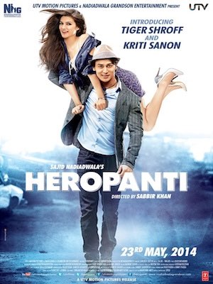 Sajid Nadiadwala's latest movie Heropanti starring Heropanti Tiger Shroff and Kirti Sanon