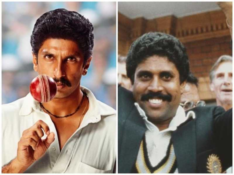 Ranveer Singh transforms into Kapil Dev for '83